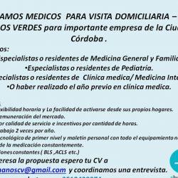 MEDICOS A DOMICILIO 2019